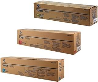 Konica Minolta TN-711 Standard Yield Toner Cartridge Set Colors Only (CMY)