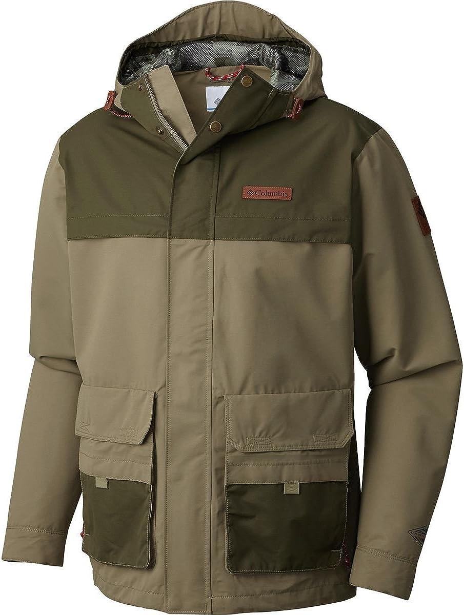 Columbia Men's South Canyon Jacket, Small, Sage/Peat Moss
