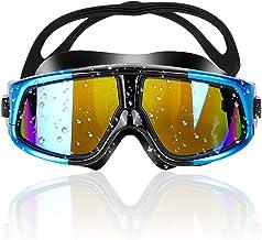 Zorara Gafas de Natación, Antiniebla Gafas Natacion, Protección UV sin Fugas, Gafas para Nadar para Adulto Hombre Mujer y Niños