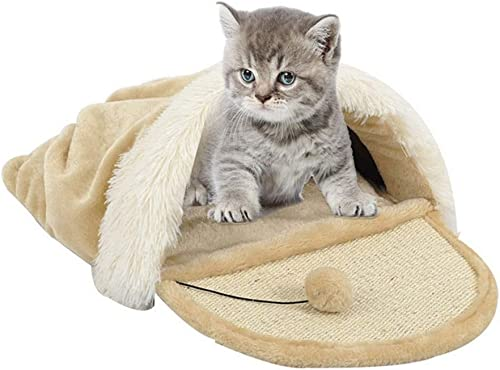 precios razonables Wuwenw Nido De Gato Saco De Dormir Scratch Scratch Scratch Board Toy Pet Supplies Mat House  mejor calidad
