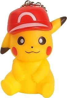 DukeTea Pikachu Keychain with Woven Keyring, Cute Bag Pendant  Kids