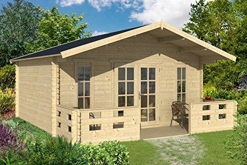 Gartenhaus München 500 x 450 cm Gerätehaus Blockhaus