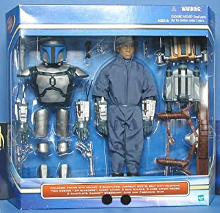 Star Wars Episode II 12 Inch Ultimate Jango Fett with Missile Launching Backpack Figure