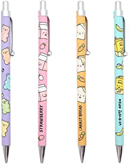 Convenience Store Foods Stationery Mechanical Pencil Goody Bag : Set of 4
