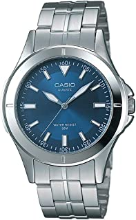 Casio Men's Dial Stainless Steel Band Watch - MTP-1214A-7AVDF