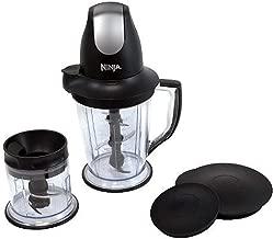 Ninja QB1000 Master Prep 450W Professional Food And Drink Mixer Black (Renewed)