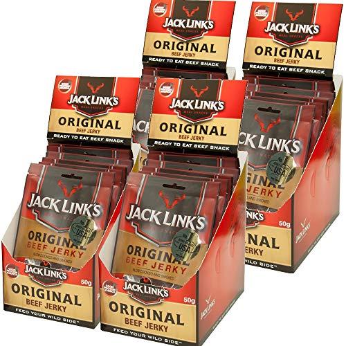 ジャックリンクスビーフジャーキ オリジナル 1袋50g 業務用1ケース (10袋×4) USAジャーキNO1商品