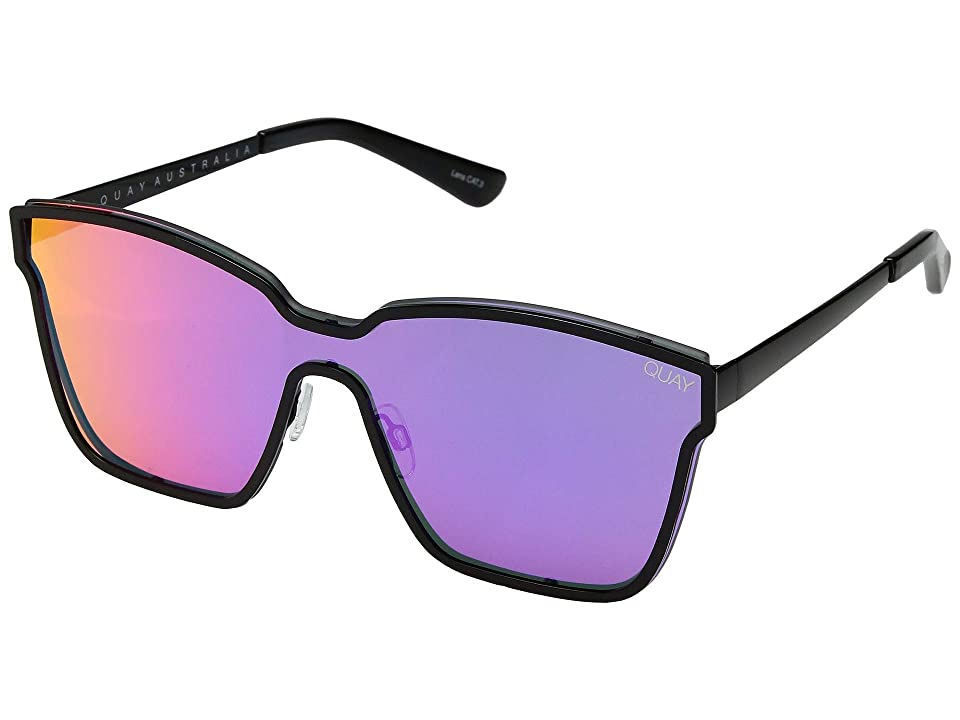QUAY AUSTRALIA After Dark (Black/Purple/Pink) Fashion Sunglasses