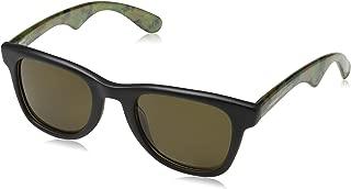 Carrera Mens 6000JCM/S Sunglasses, Black Green Camo/Brown, One Size