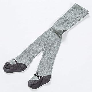 Aerlan, Everyday Calcetines de Deporte,Leggings con Lazo, Medias de algodón para niños-3 Piezas en Gris_L,Calcetines Invisibles Algodón Respirable