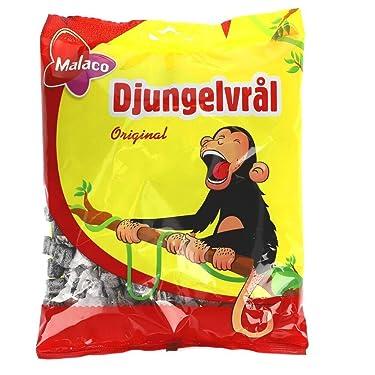 Malaco Djungelvrål Swedish Jungle Roar 450g / 15.87 Oz (Soft Salty Licorice)