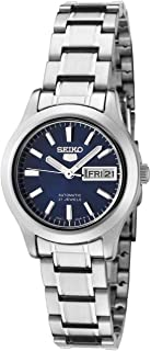 Women's SYMD93K1 Seiko 5 Automatic Blue Dial Stainless Steel Watch
