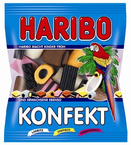 Haribo Konfekt, 24er Pack (24x 100 g Beutel)