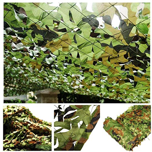 Jolan Tarnnetz Camouflage Net Sonnensegel Sonnenschutznetz, Jagd Camping Fotografie Outdoor Tarnnetz Bundeswehr, Militär Tarnnetz, Eine Vielzahl Von Größen, Kann Angepasst Werden,5x5m(16.4 * 16.4ft)