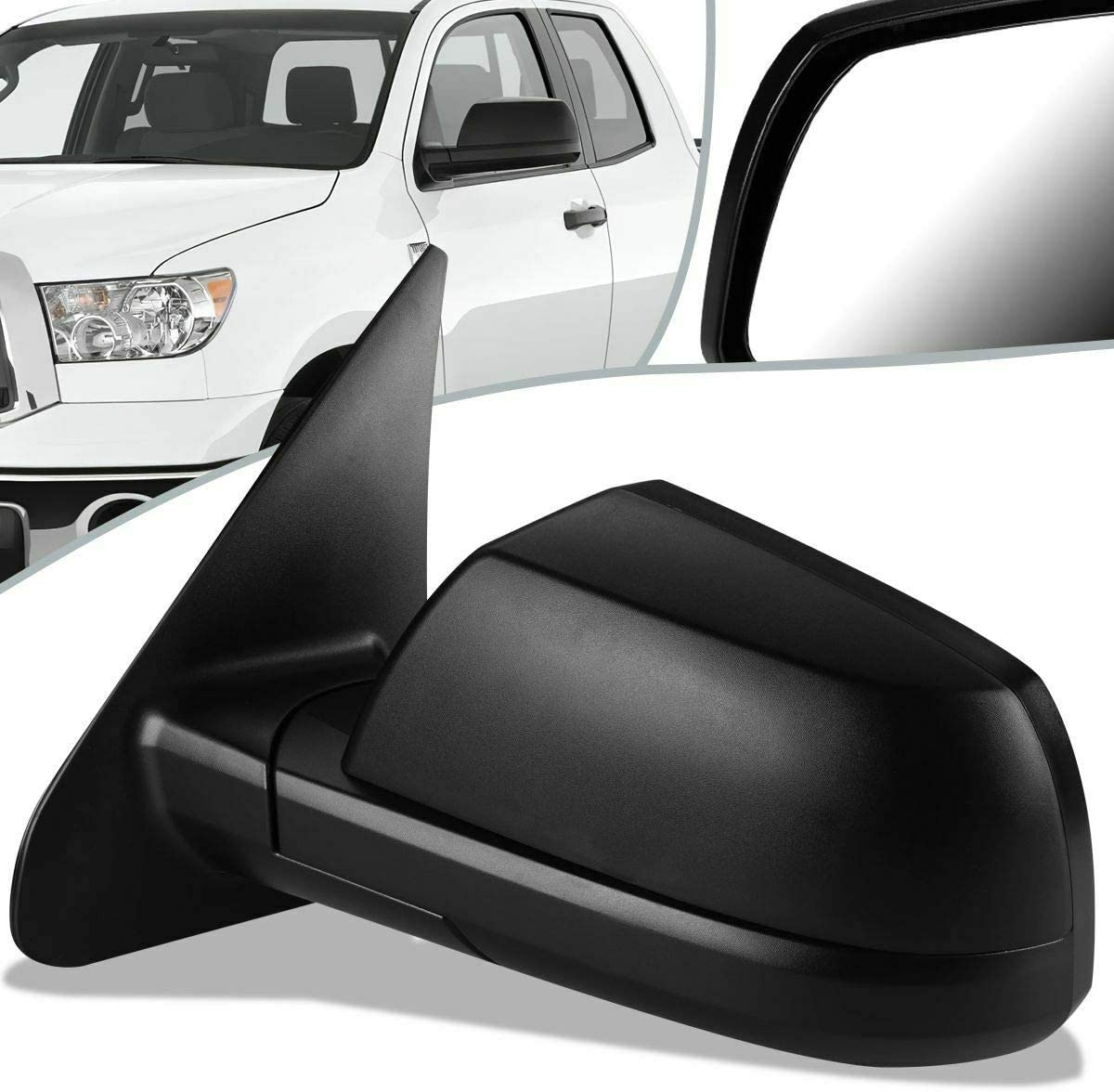 Attention brand NEW Towing Ranking TOP5 Mirrors Compatible with 07-13 Tundra 08-13 Sequoia Cr