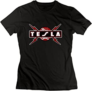 Seico Women Tesla Band Logo Tees