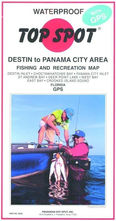 Top Spot Map N225 Destin to Panama