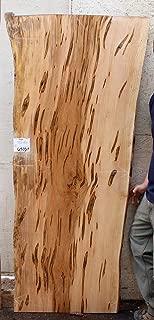 Live Edge Desk Natural Ambrosia Maple Coffee Table Raw Wood Slab Vanity Countertop DIY Rustic Custom Wooden Furniture 6501s7