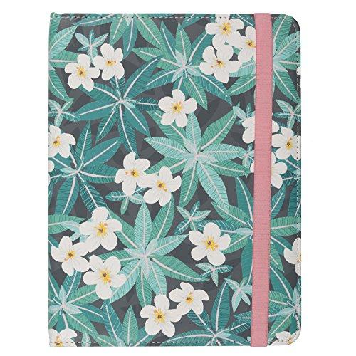 Trendz Universal PU Patroon Lederen Folio Tablet Case Cover met Veilige Sluiting Compatibel met Tabletten
