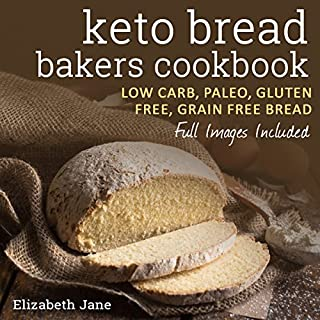 Keto Bread Bakers Cookbook audiobook cover art
