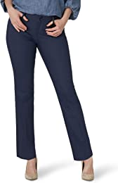 Secretly Shapes Regular Fit Straight Leg Pant Pant