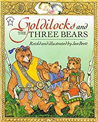 Cover of Goldilocks and the Three Bears by Jan Brett