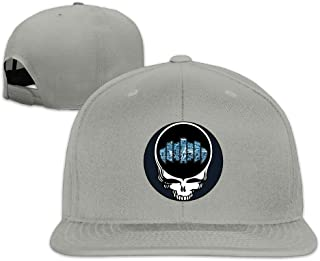 BENZIMM Men's Steal Your Face Dopapod Snapback Caps Flat Baseball Hat