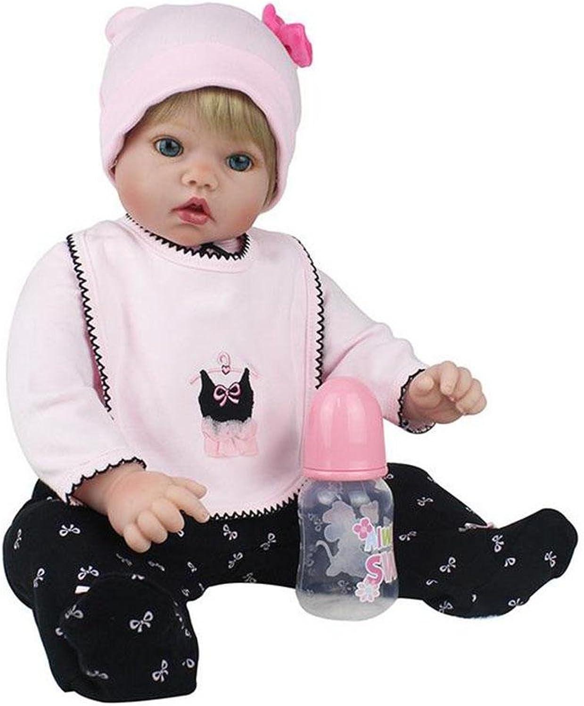 SHTWAD GroßE Zu Reborn Babypuppe Simulation Silikon Baumwolle KöRper Niedlichen Augen MäDchen Jungen Spielzeug Geburtstagsgeschenk 50cm B07LBDNFP3 Online-Verkauf  | Bequeme Berührung