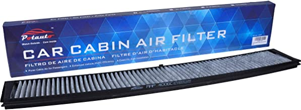 POTAUTO MAP 4006C (CF10362) Replacement Activated Carbon Car Cabin Air Filter for BMW, 300 Series, M Series, X3(Upgraded with Active Carbon)
