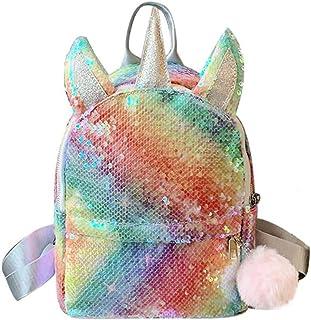 Mochila de Unicornio, Mochila Escolar para niña, Mochila de Lentejuelas, Mochila de Lentejuelas, Mochila de Viaje