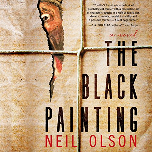The Black Painting audiobook cover art