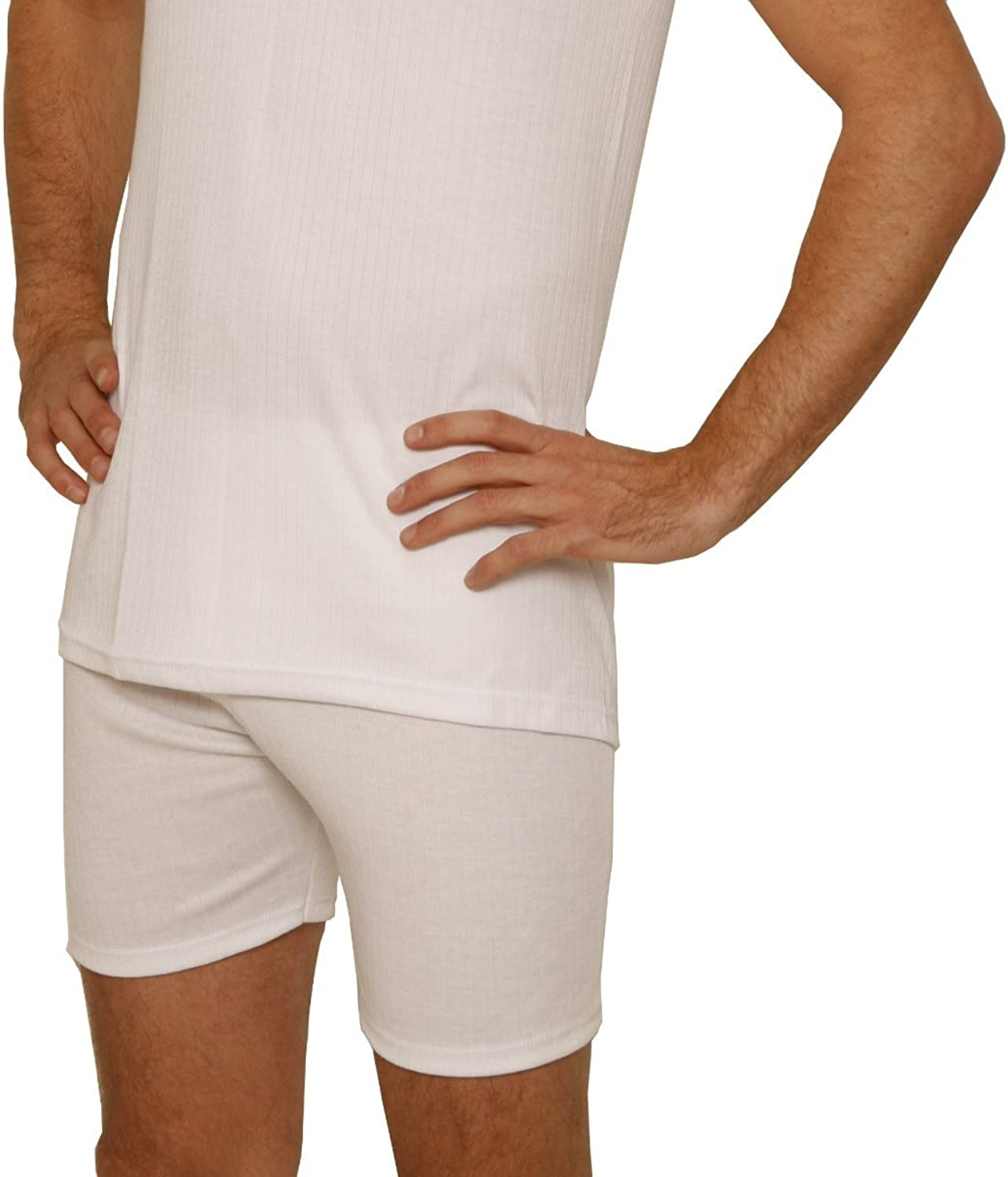 Octave Thermal Underwear: Mens Thermal Trunks - British Made