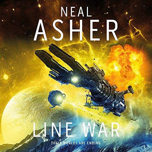 Line War audiobook cover art
