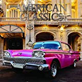 16 Month Wall Calendar 2020-2021, Classic Cars (12 x 12 Inches)