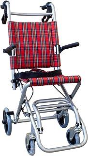 Mobiclinic, Neptuno, Opvouwbare rolstoel voor volwassenen, transportrolstoel, Aluminium duwstoel, opvouwbaar, met remmen, ...