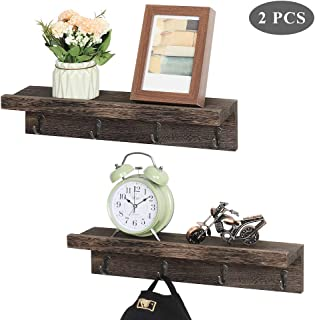 Best decorative wall shelf with hooks Reviews