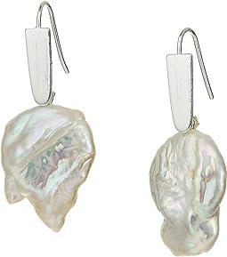 Bright Silver Baroque Pearl