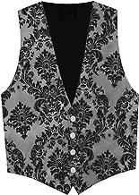 Victorian Vagabond Steampunk Gothic Western Brocade Men's Vest