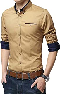 PEARL OCEAN Men's Casual Shirt