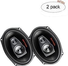 BATVOX 6X9 car Speakers 2-Way,Full Range Car Audio Stereo Speakers ,Rear Speakers in Automotive-Set of 2