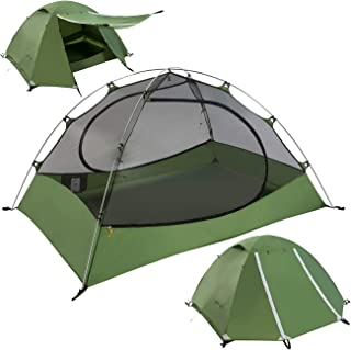 Clostnature Lightweight 2 and 3 Person Backpacking Tent - 3 Season Ultralight Waterproof Camping Tent, Large Size Easy Set...