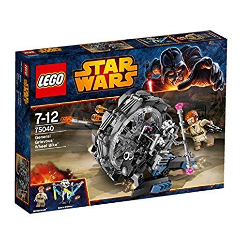 lego star wars grievous LEGO Star Wars 75040 - General Grievous Wheel Bike
