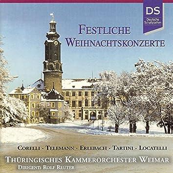 Corelli, Telemann, Erlebach, Tartini & Locatelli: Festliche Weihnachtskonzerte