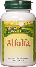 Sunny Green Alfalfa Leaf 500 Mg, 120 Count