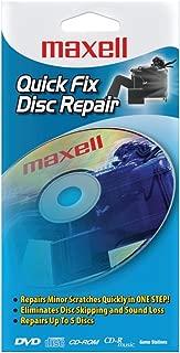 Maxell 190039 Quick Fix CD/DVD Repair Kit
