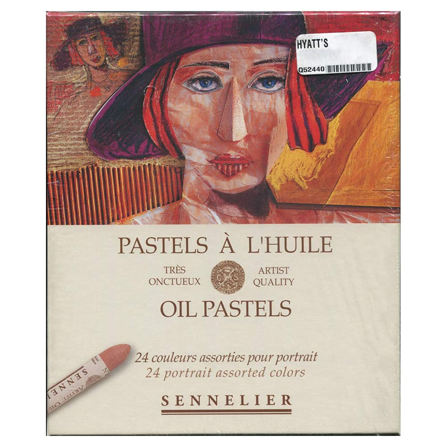 Sennelier Oil Pastel Portrait Set of 24