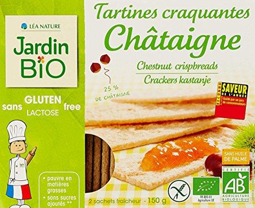 Jardin Bio Tartines Craquantes Châtaigne sans Gluten 150 g