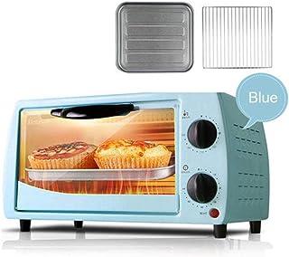 Mini horno doméstico horno multifuncional para hornear pasteles de pizza con temporizador de 60 minutos tostadora de acero inoxidable 2 capas 9L 220V-B
