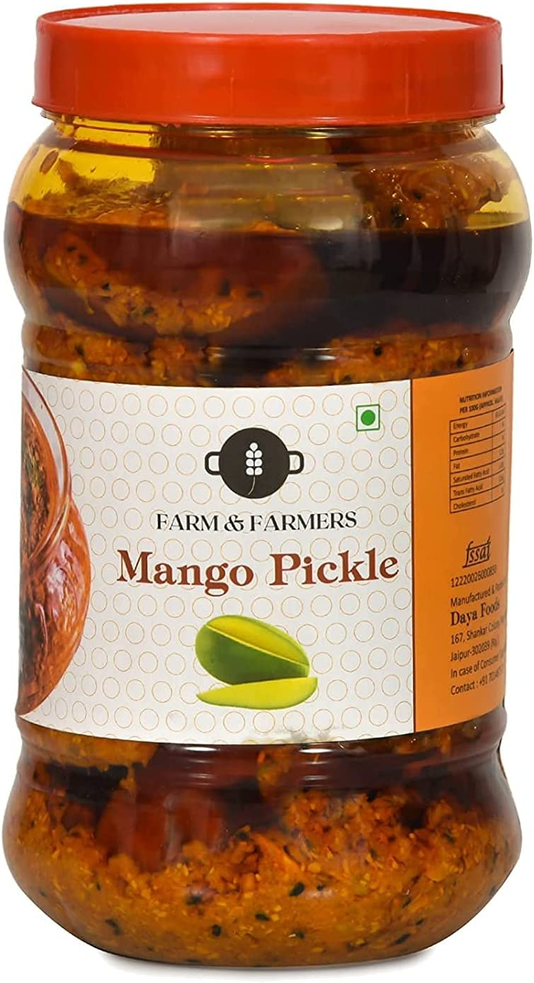 Atome Farm and Farmers Home Pickl New product Mesa Mall type Made Delicious Spicy Mango