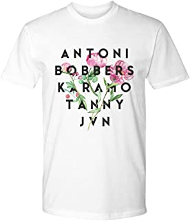 Queer Eye Shirt Fab Five Shirt Fab 5 Names in Peonies Antoni Bobbers Karamo Tanny JVN White Unisex Shirt